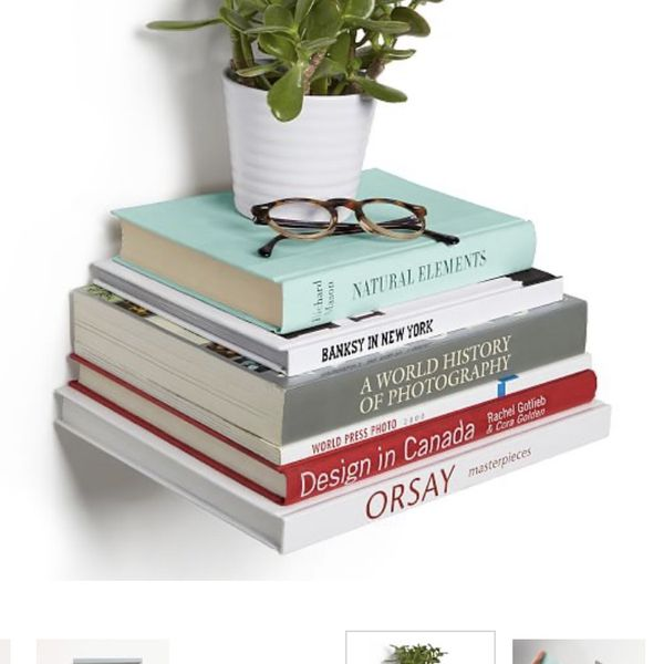 Conceal Floating Bookshelf, Small x 3