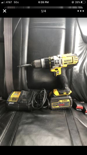 DeWALT 20V 60V Drill and Charger for Sale in San Jose, CA
