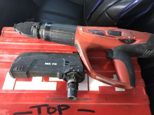 Hilti Powder Actuated Fastening Nail Gun DX460 for Sale in San Francisco, CA
