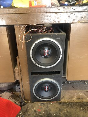 Xplod Sony subwoofers for Sale in Spring Valley, CA