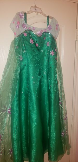 Girls Elsa's frozen ever after dress size 9/10 for Sale in Grand Prairie, TX