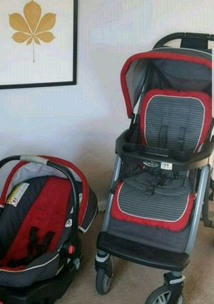 Graco stroller and car seat with clickin base for Sale in Philadelphia, PA