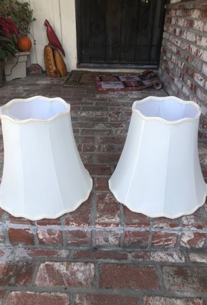 2 lamp shades for Sale in La Habra, CA