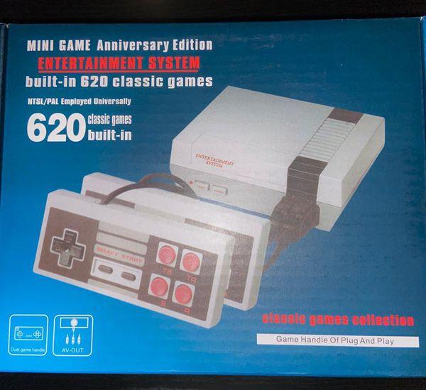 RETRO MINI GAMES console , anniversary edition with all the arcade Nintendo games