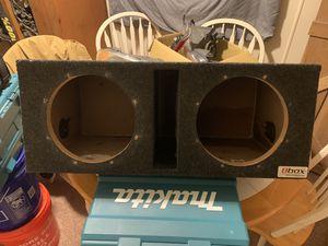"Box 10"" subwoofer box for Sale in Cumming, GA"