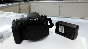 Canon EOS Rebel T6s /EOS D760 24.2MP Digital SLR Camera body. EXCELLENT! for Sale in Georgetown, TX