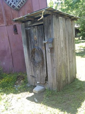 Hand built outhouse for Sale in Rockford, TN