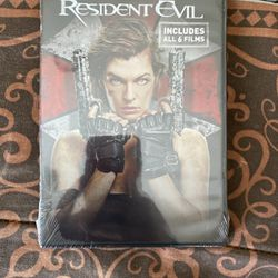 Resident Evil (Includes All 6 Films) for Sale in Hanford,  CA