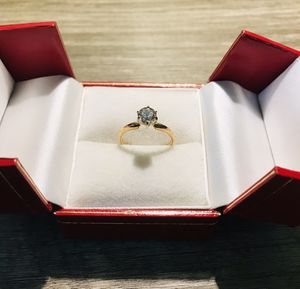 Diamond ring 14 kt for Sale in Long Beach, CA