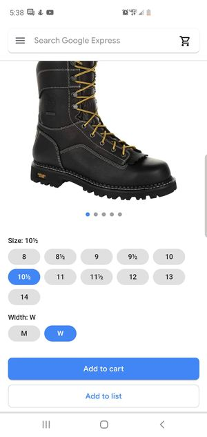 Ct black logger Georgia Boots for Sale in Auburndale, FL