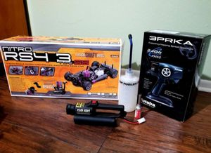 Fuel powered HPi Racecar with remote and more! for Sale in Orlando, FL