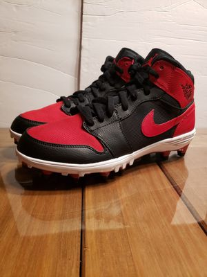 JORDAN RETRO 1 TD MID BRED FOOTBALL CLEATS MENS...SZ 10...BRAND NEW for Sale in Bakersfield, CA