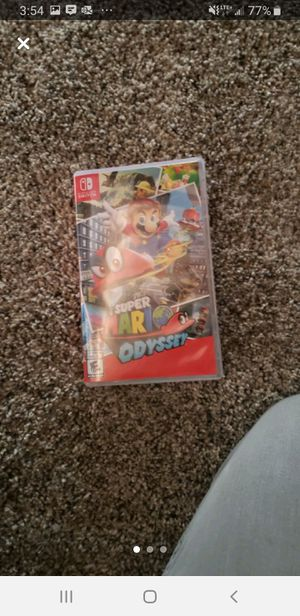 Super Mario Odyssey - Nintendo switch game for Sale in Carlsbad, CA