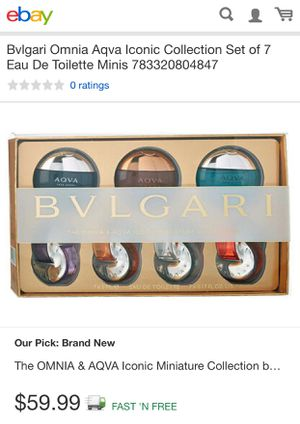 Bvlgari miniature collection perfumes for Sale in Oxon Hill, MD