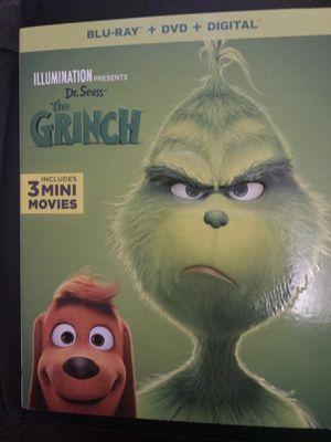 THE GRINCH BLU-RAY DVD DIGITAL MOVIE for Sale in Long Beach, CA