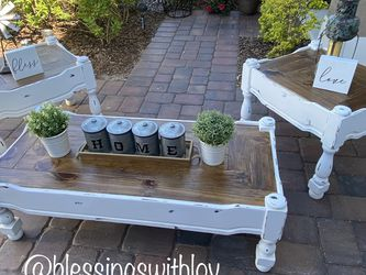 Farmhouse Coffe Table Set for Sale in St. Cloud,  FL