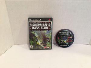 Playstation 2 ps2 Fisherman's Bass Club Game for Sale in San Bernardino, CA