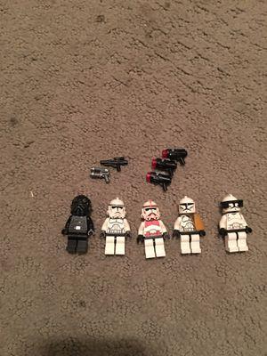 Lego Clone figure with accessories (LEGO ORIGINAL) for Sale in Yuma, AZ