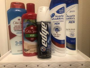 New/Unused Shampoo/Conditioners, Soaps, Toothpaste, Body Spray & Bath Bombs for Sale in Las Vegas, NV