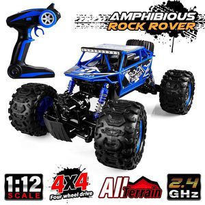 New Distianert 1/12 Scale RC Truck 4WD Electric Amphibious RC Car, 2.4GHz 18km/h for Sale for sale  Brooklyn, NY