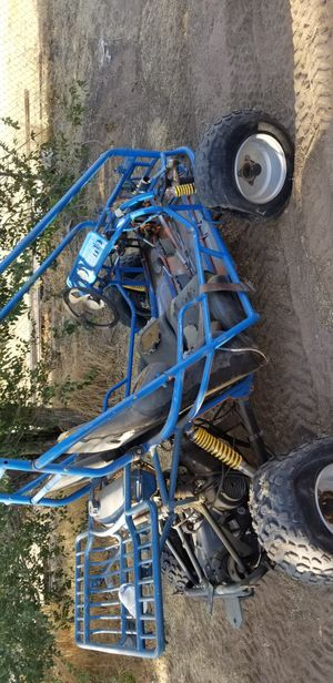 Go kark dune buggy sand rail 150cc 4 stroke does run just needs gas and air on tires has reverse electric start pretty fast for Sale in Fontana, CA