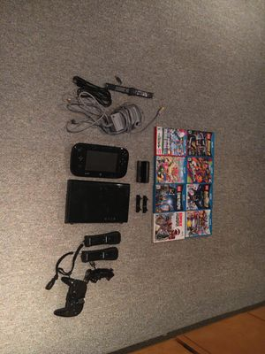 Wii U with Nintendo Land and Super Mario World 3D for Sale in Vista, CA