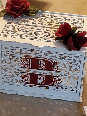 Card box for wedding for Sale in Lynchburg, VA