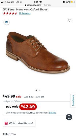 J Ferrar Dress Shoes Size 12 for Sale in Upland, CA