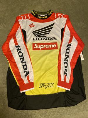 Supreme x Honda FOX Racing Jersey XL for Sale in Houston, TX