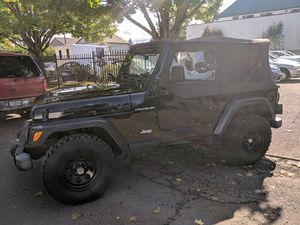 2001 Jeep Wrangler for Sale in Portand, OR