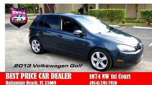 2013 Volkswagen Golf for Sale in Hallandale Beach, FL