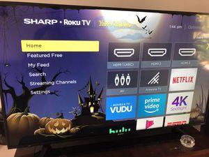 """Sharp 55"""" ROKU Smart TV for Sale in Fort Lauderdale, FL"""