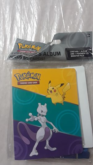 Pokemon cards with album for Sale in Lawrenceville, GA