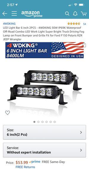 LED automotive truck Jeep light bar for Sale in Morton Grove, IL