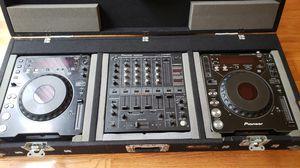 DJ equipment pioneer cdj-1000 and djm-500 for Sale in Seattle, WA