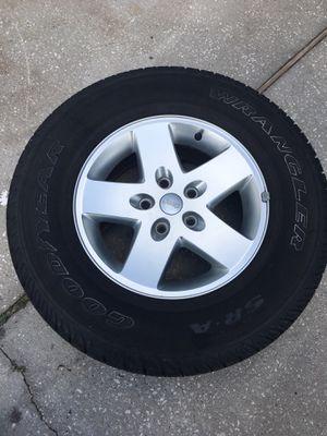 "17"" Jeep Rims / Wheels for Sale in Orlando, FL"