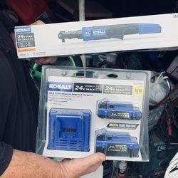 Kobalt Ratchet and Battery Set for Sale in Chesapeake,  VA