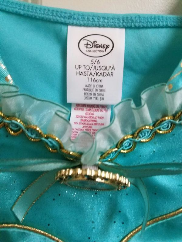 New with tags size 5/6 Disney Princess Jasmine Top Only halloween pretend play - $10 price firm.