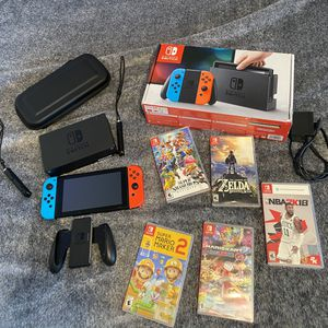 nintendo switch bundle for Sale in Oak Park, CA