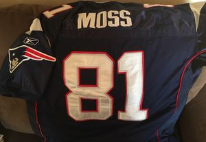 Authentic, stitched Randy Moss Reebok jersey Size 52 for Sale in Renton, WA