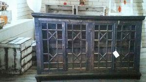 Antique console 4 glass, 4 color for Sale in Dallas, TX