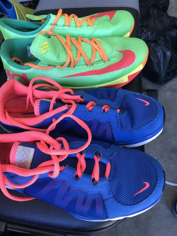 Lady Nike's like new size 8.5