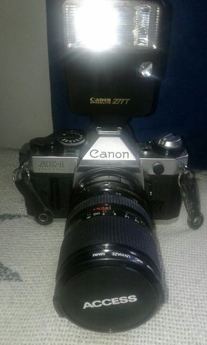 Canon AE1 and lenses very good condition for Sale in Paradise, PA