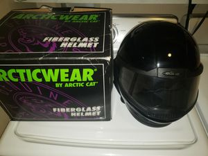 Snowmobile Helmet Arctic Cat Fiberglass. XL. Near Mint, Never Worn for Sale in Prescott Valley, AZ