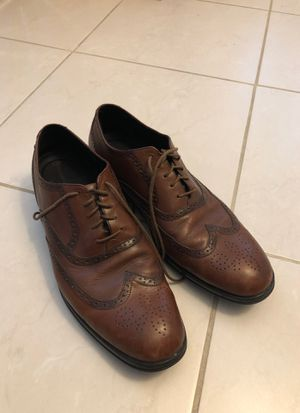 Rockport brown dress shoes size 13 very lightly used for Sale in Miami, FL