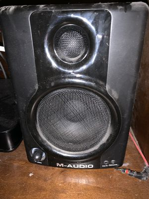 M Audio Speakers for Sale in Warwick, RI