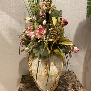 Vase With Fake Plants for Sale in Paradise Valley, AZ