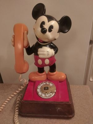 Vintage Mickey Mouse Rotary Telephone for Sale in Phoenix, AZ