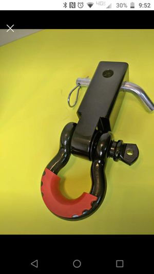 Used, Receiver shackle mount with shackle isolator for Sale for sale  Orlando, FL