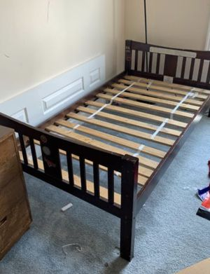 bed frame with or without mattresses for Sale in Jessup, MD